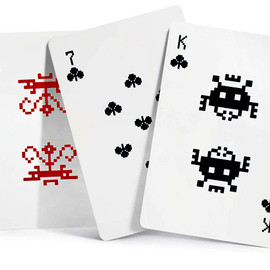 Art Lebedev Studio - Space Invaders Playing Cards