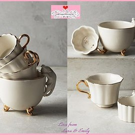 Anthropologie - Time For Tea Measuring Cups