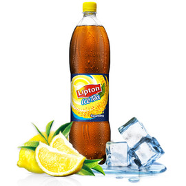 Lipton - Sparkling Ice Tea -Lemon-