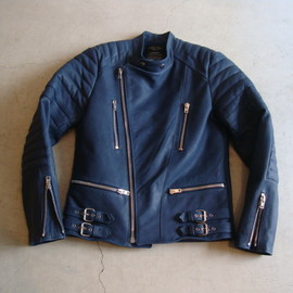 UNUSED - LEATHER RIDERS BLOUSON