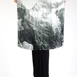 light as a feather: mountain silk scarf (INCLUDES FREE SHIPPING)