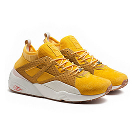 PUMA - Blaze of Glory Sock (Ice Cream) - Old Gold/Bright Gold