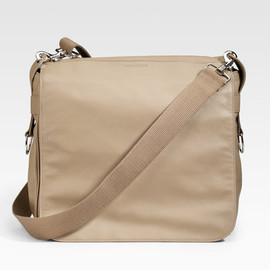 Dior Homme - Dior Homme Leather Messenger Bag in Beige for Men (dark beige) - Lyst