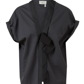 Lanvin - Cotton-silk Cocoon Top
