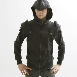 Peter Armored Knight Medieval Armor Pullover Hoodie Made To Order