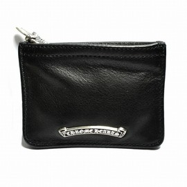 CHROME HEARTS - dagger zip coin purse