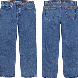 Supreme - Loose Fit Jean