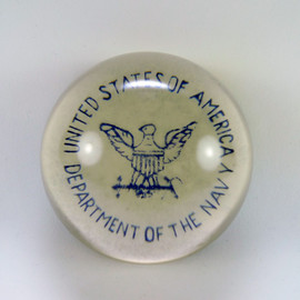 US Navy Paperweight