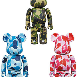 MEDICOM TOY - 超合金 BE@RBRICK ABC CAMO
