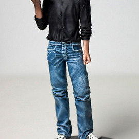 "iBeatninjas - Steve Jobs figure 10"" (25,4cm) WITH ANGRY BIRDS AND MACBOOK AIR"