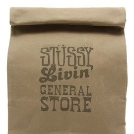 STUSSY Livin' GENERAL STORE, STUSSY - Large Brown Bag