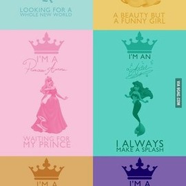 Disney Princesses by 9GAG - Disney Princesses by 9GAG
