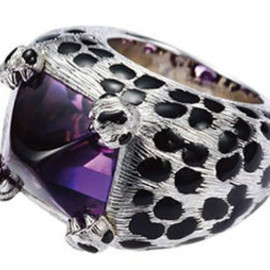 Dior JOAILLERIE - ring / Mitza white gold and amethyst