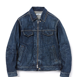 "nonnative - WORKER BLOUSON COTTON 12oz DENIM ""DARK"""