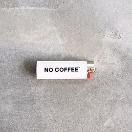 NO COFFE - NO COFFEE Bicライター ホワイト