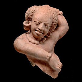 Dancing Shiva, Eastern India, Bihar or Bengal, 5th/6th century. Terracotta. Height: 25 cm.