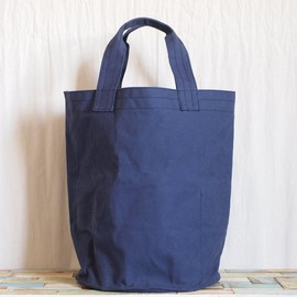 GOOD WEAVER - VULCANIZED CLOTH BUCKET 30L #navy