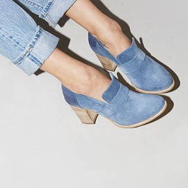 No.6 - No.6 Stacked Heel Loafer