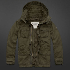 Abercrombie & Fitch - Mens Adams Mountain Jacket