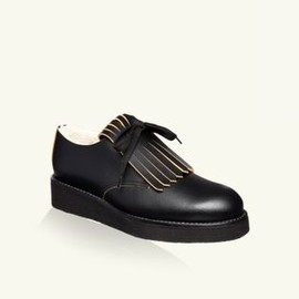 MARNI - Lace-up in calfskin 1