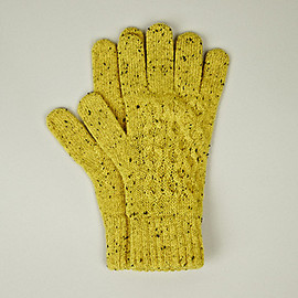 RAF SIMONS - Structured Knit Gloves