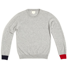 Band of Outsiders - LONG SLEEVE CREW NECK