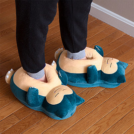 ThinkGeek - Pokemon Snoring Snorlax Slippers