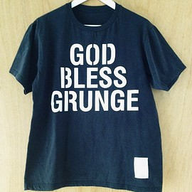 "WRIGHT - ""GOD BLESS GRUNGE"" (black) ILA.&WRIGHT The Stencil Awakens"