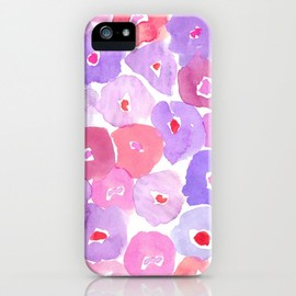 Society6 - Watercolor Floral by Leah Reena Goren