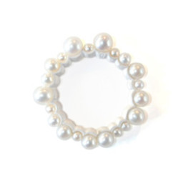 simmon - Outside Full Pearls Ring