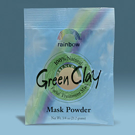 rainbow research - French Green Clay .75oz Packet