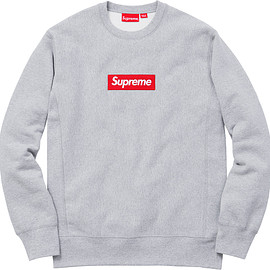 Supreme - Box Logo Crewneck