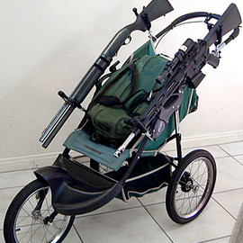 Tactical Baby Stroller Rifle 1 Tactical strollers!