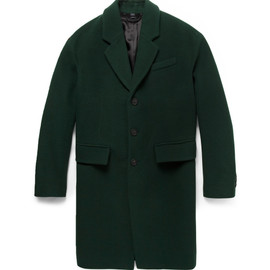 BURBERRY PRORSUM - WOOL AND CASHMERE-BLEND OVERCOAT