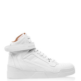 GIVENCHY - Leather high-top trainers