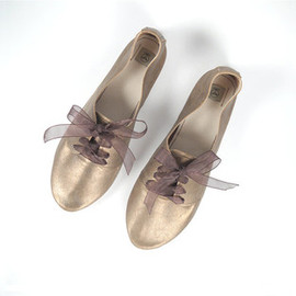ele handmade - Bronze Leather Oxfords Handmade Shoes
