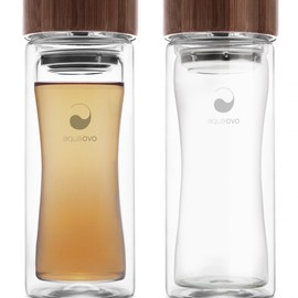 Therm-O Terra - Bamboo Glass Water Bottle