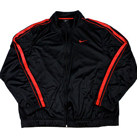 NIKE - Nike Track Jacket in Black/Red Mens Size XL