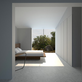 John Pawson - Bedroom, Majorqua House, Spain