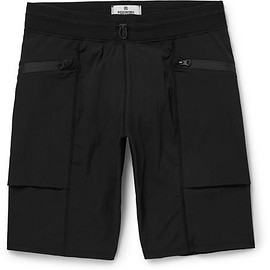 Reigning Champ - Slim-Fit Textured Stretch-Shell Shorts