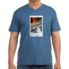 GREAT WALL - GREAT WALL オフィシャルグッズ sick synth solo ブルー Tシャツ