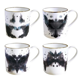 Culture Label - Fox Ink Blot Mug