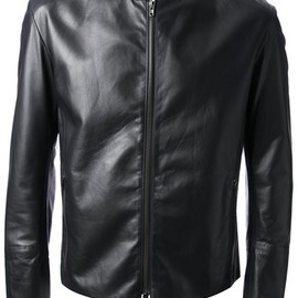 MAISON MARTIN MARGIELA - fitted biker jacket