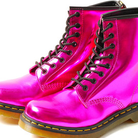 Dr.Martens - ELECTRIC 8EYE BOOT Hot Pink