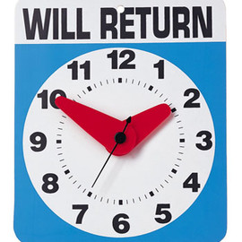 KIKKERLAND - Will Return Clock
