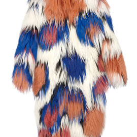 MARNI - FW2014 Calcare Long Hair Sheepskin Coat