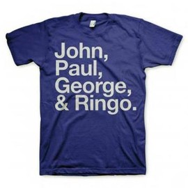 The Beatles - John Paul George Ringo T-shirt