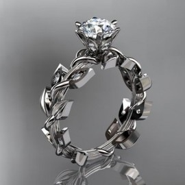 14kt white gold diamond