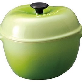 le creuset - mini Apple fruits Green