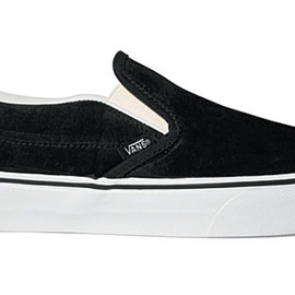 VANS - Slip-on Suede Black